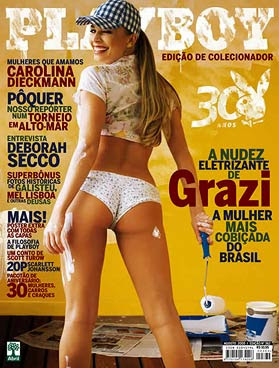 Playboy Ex bbb - Graziela Massafera