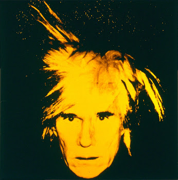 A arte de Andy Warhol no Layout: