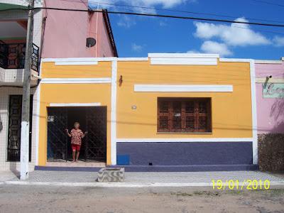 Minha casinha amarela - Por Dalinha Catunda / Rio de Janeiro