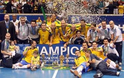 Futsal: Brasil é hexa