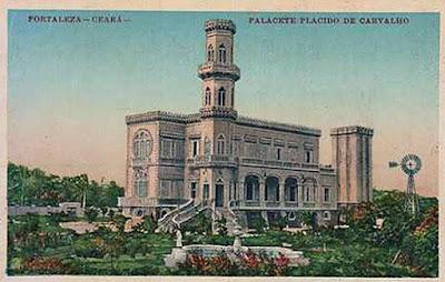 A História do Palacete do Plácido - Por Bérgson Frota / Fortaleza