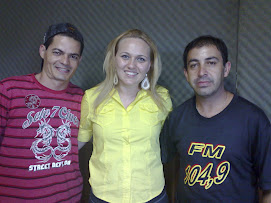 Gilson, Juliana Lunardelli e Ponce