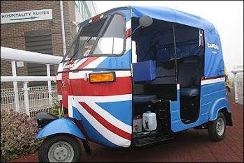 Triciclos em Brighton, Inglaterra