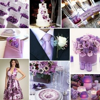 Purple wedding decorations, Purple wedding decorations pictures