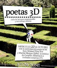 Poetas 3-d + Invitados salteños especiales con jamón y queso