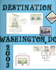 Destination DC -- where postage stamps and scrapbooking meet