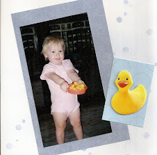 Daughter and Duckies Scrapbook