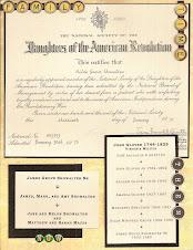 Scrapbooking a Certificate