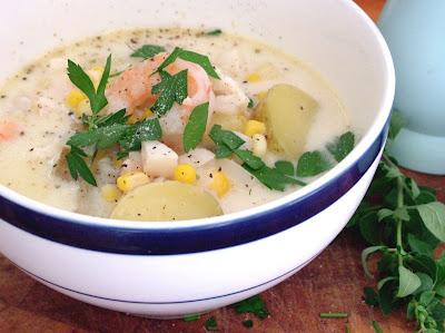 Seafood+chowder Day 221: Seafood Chowder