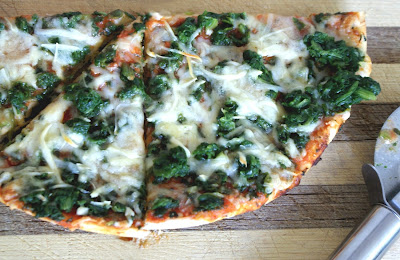 Dr Oetker Spinach pizza Day 249: Lapsang Souchong Pork Tenderloin and Dr. Oetker Spinach Pizza