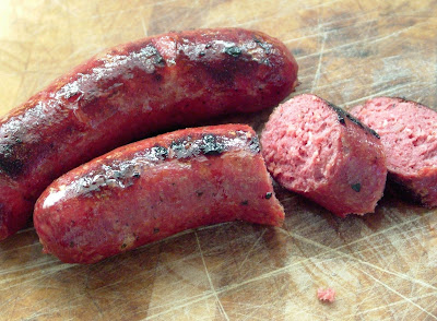 Bison+Sausage Day 273: Bison Smokies, Rehashed Browns, Peas & Carrots