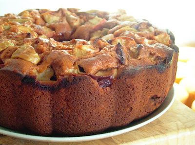 Tomato+Apple+Cake Day 301: Chinese Food and Tomato Apple Cake