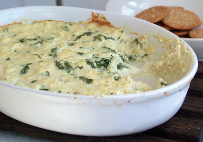 Crab+Dip Day 328: Sticky Drumsticks and Crab, Spinach and Artichoke Dip