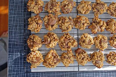 PB+%26+Banana+Choc+Chunk+Cookies Peanut Butter & Banana Chocolate Chunk Cookies