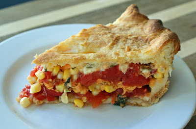 tomato and basil pasta fresh corn and tomato salad corn and tomato pie ...