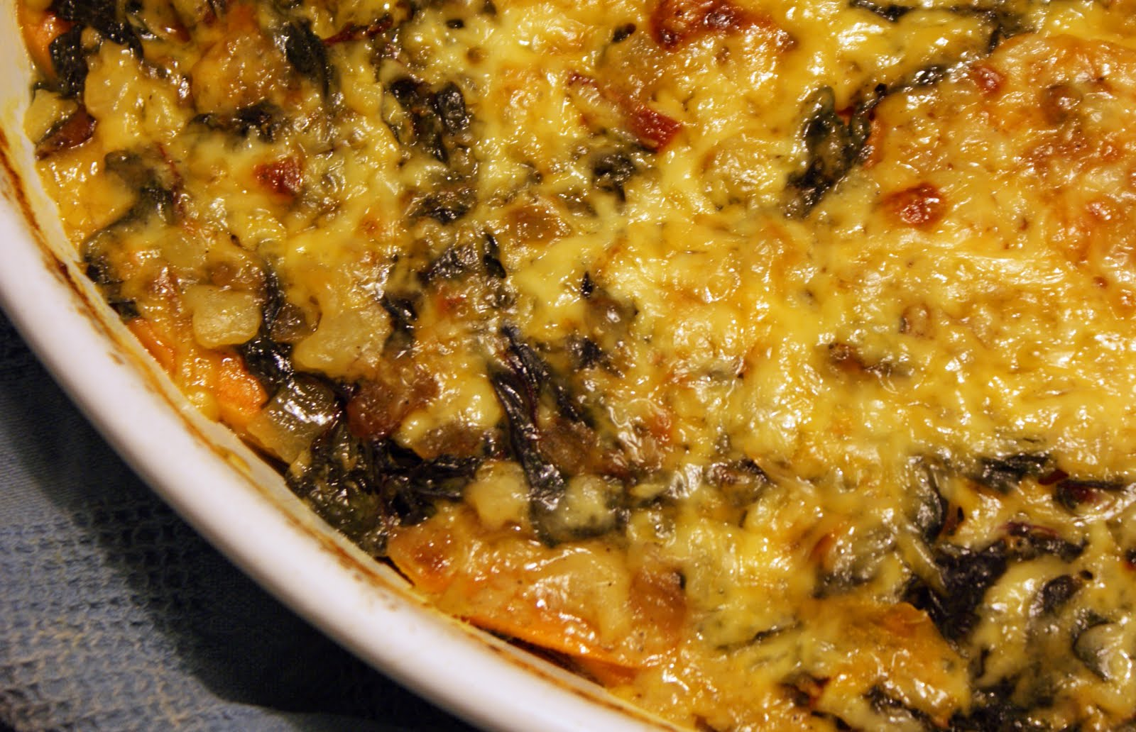Swiss chard gratin canadian living crafts
