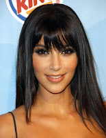 Kardashian  Bangs on Kim Kardashian Bangs Jpg