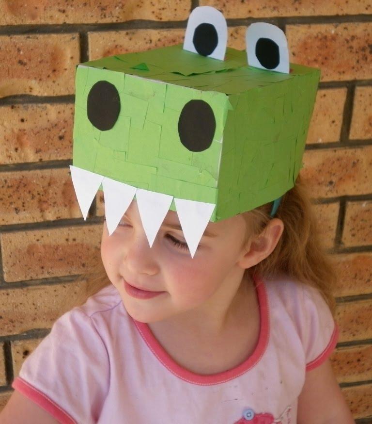 Как сделать шапку дракона из бумаги