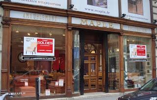 Commerces immarcescibles meubles maple for Meubles maple