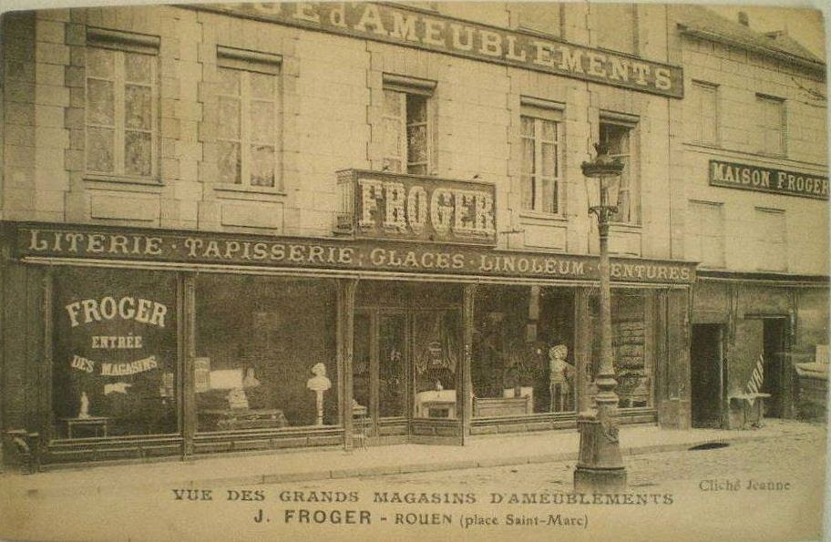 CommercesImmarcescibles Meubles Froger  Rouen