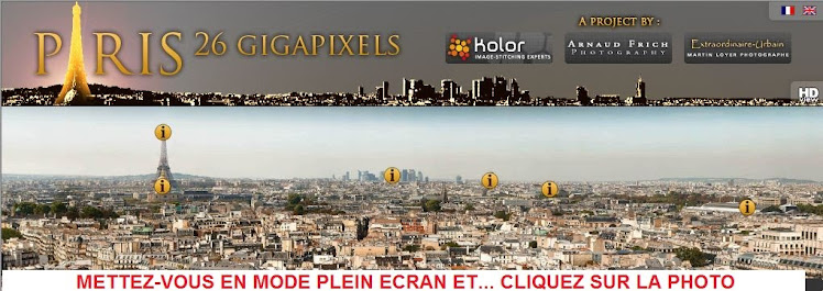 Visite virtuelle interactive des plus beaux monuments de Paris