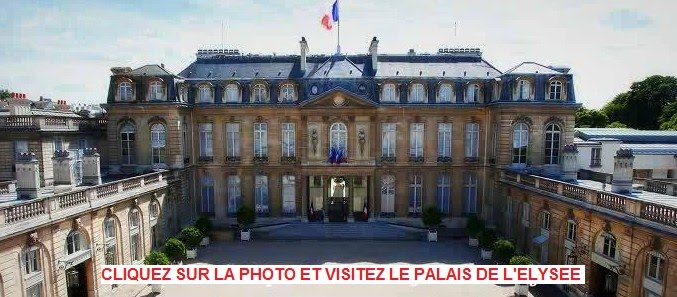 Le Palais de l&#39;Elyse comme si vous y tiez