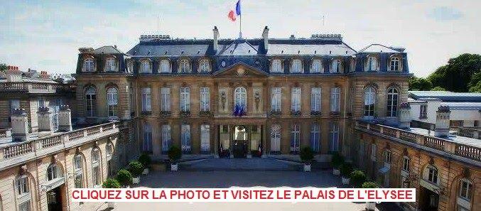 Le Palais de l'Elysée comme si vous y étiez
