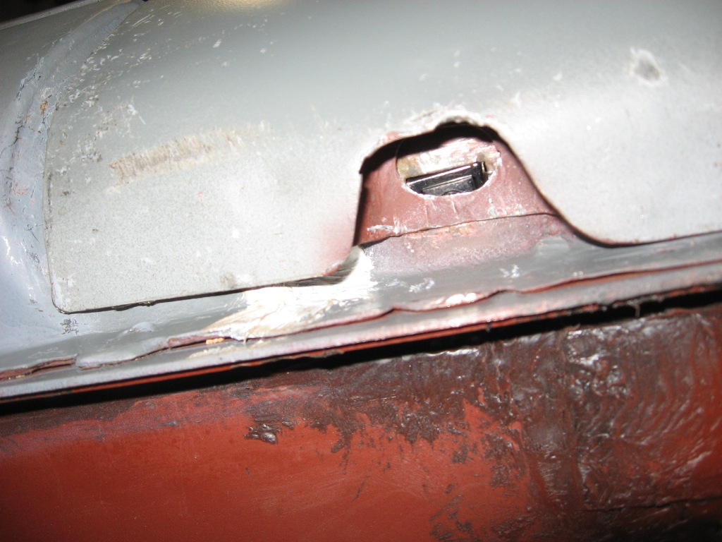 Fender mounting hole not behaving itself & 1968 Mustang Convertible Restoration: Panel Alignment Part 2