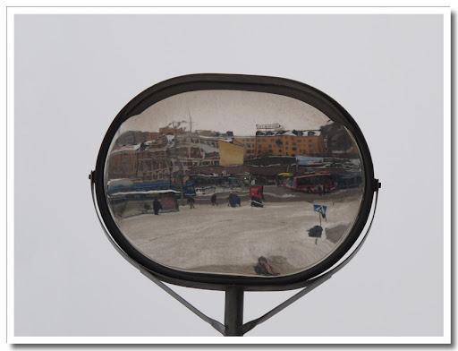 Spegel på Slussen
