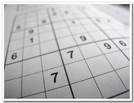 Sudoku med 7:or