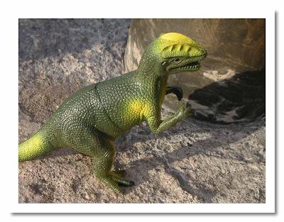 Dinosaurie! Också klickbar så klart.