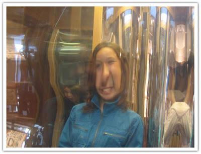 Man blir snygg i såna speglar