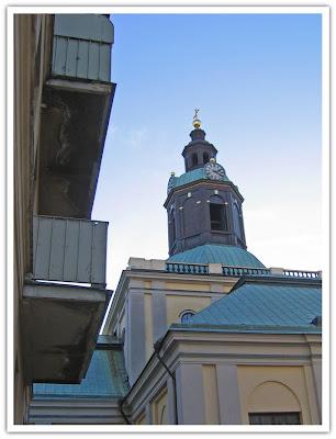 Kungsholms kyrka, baksidan