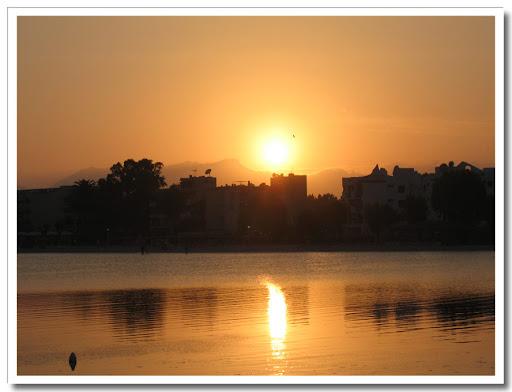Solnedgång på Mallorca