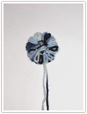 Blomma på minsta pinnarna