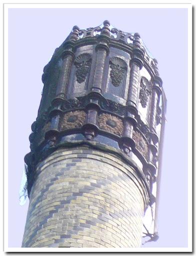 Dekorerad skorsten