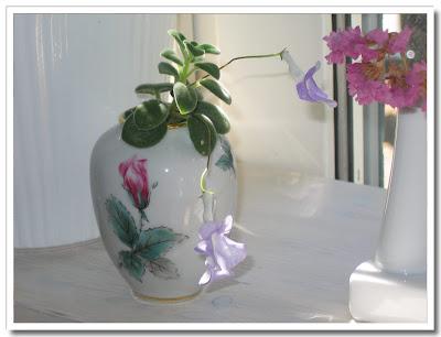 Blommande blomskott