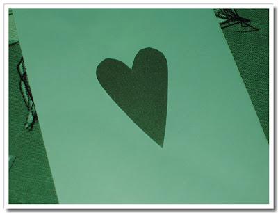 Hjärta i silverpapper