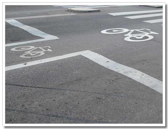 Cyklar i gatan