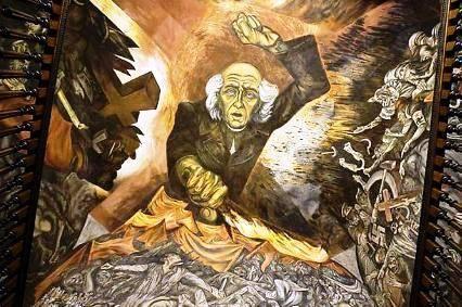 El historiador biograf a de jos clemente orozco for El mural guadalajara