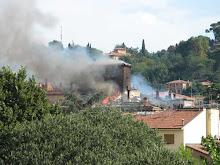 palazzo albergati (brucia un pezzo della città