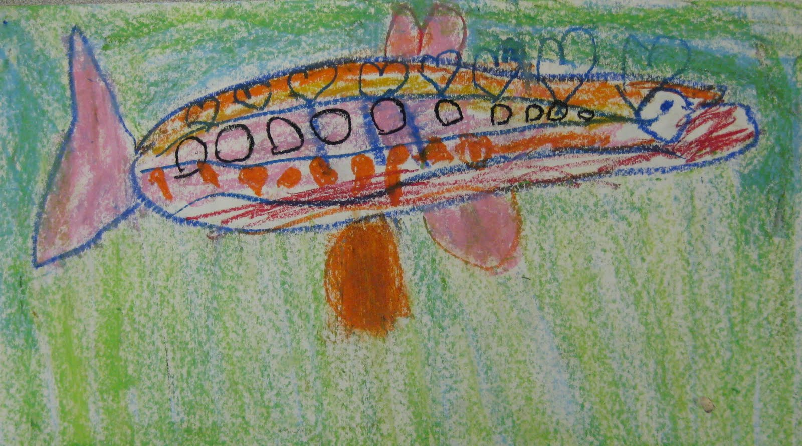 Using Lines In Drawing : Drawing fish with lines and shapes u2022 teachkidsart