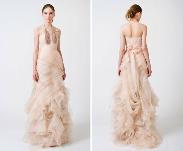 wedding dresses vera wang spring 2011. vera wang bridal spring 2011.