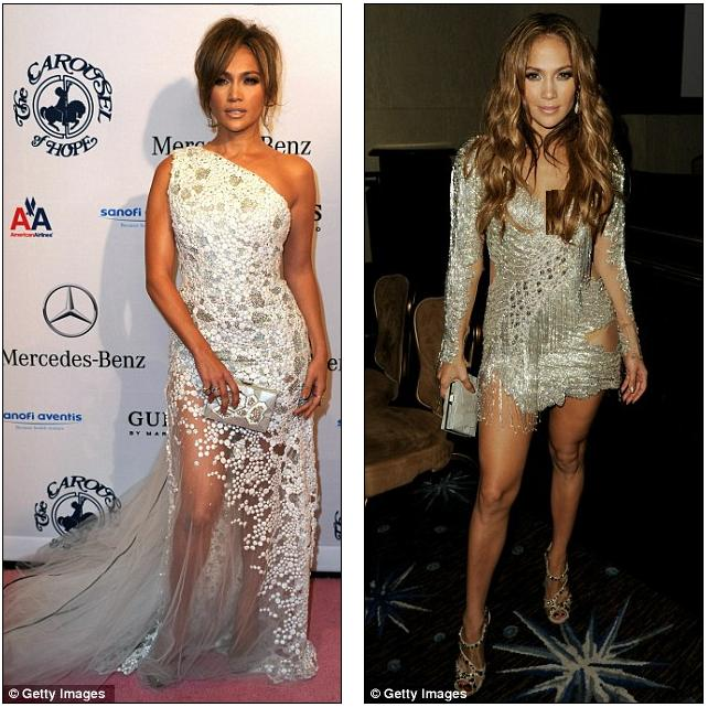 Jennifer Lopez Daily Mail