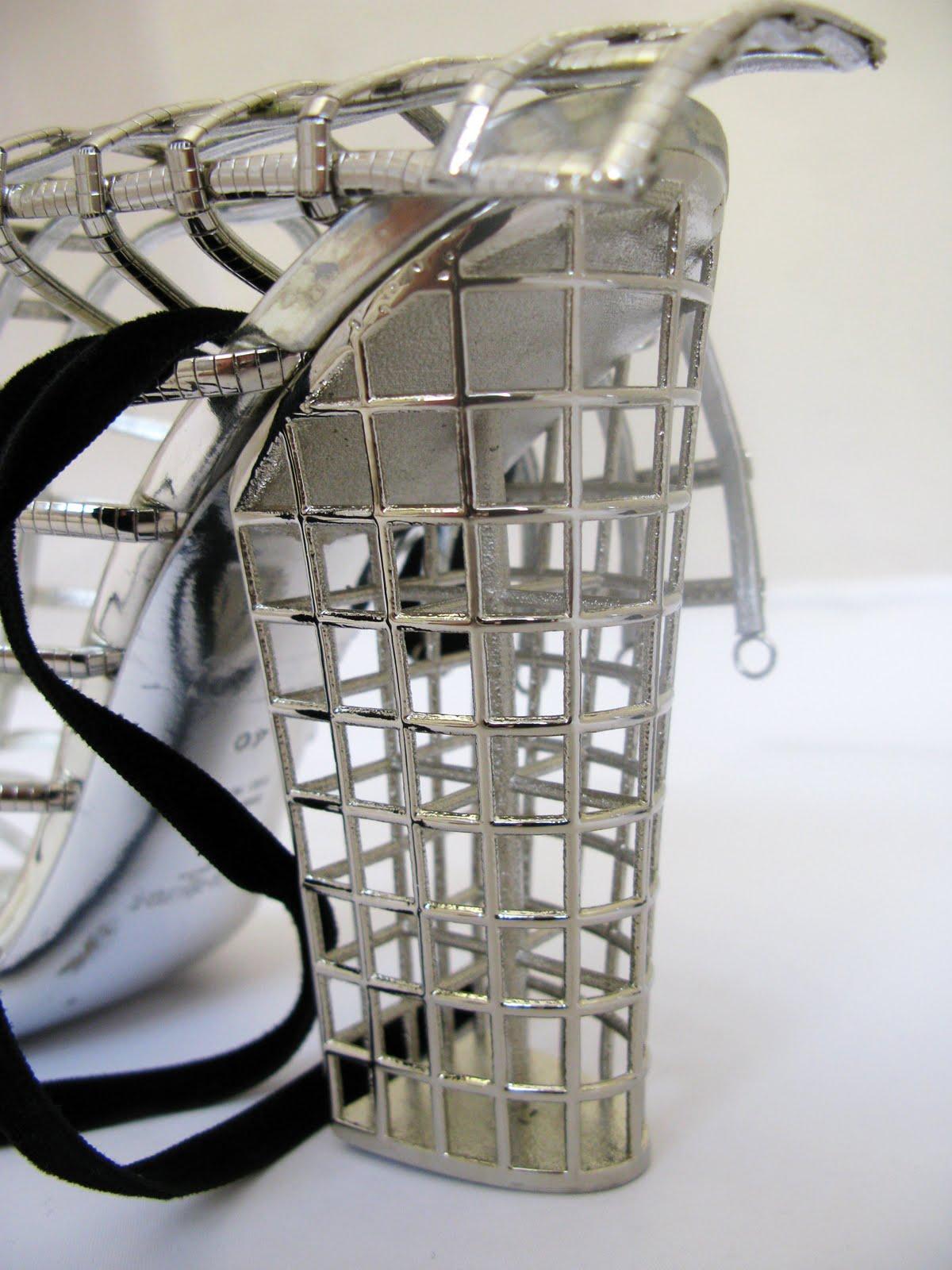 The closet bureau yves saint laurent cage heels for Bureau yves saint laurent