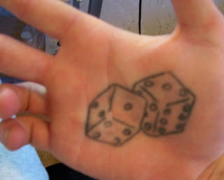 Dice Tattoo