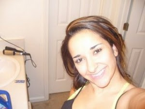 Sahel Kazemi seen here taking a picture of herself.