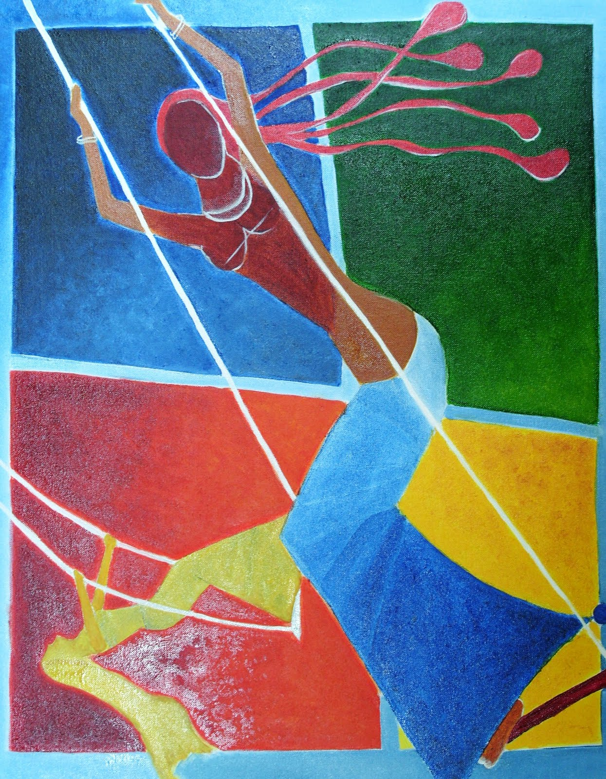 Horse - I | Serigraph by M F Husain | Limited Edition Print