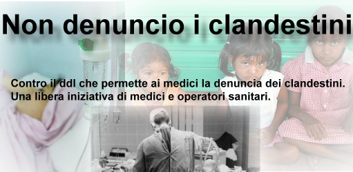 Non Denuncio I Clandestini
