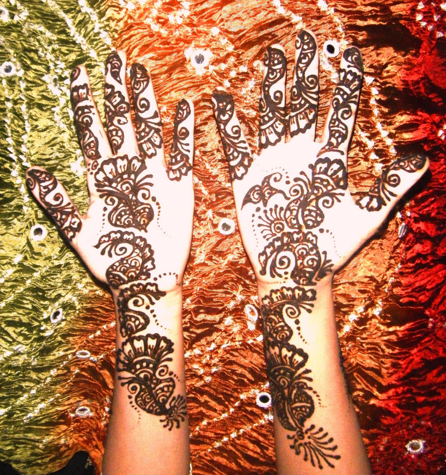 Professional Henna Artist Henna Designs